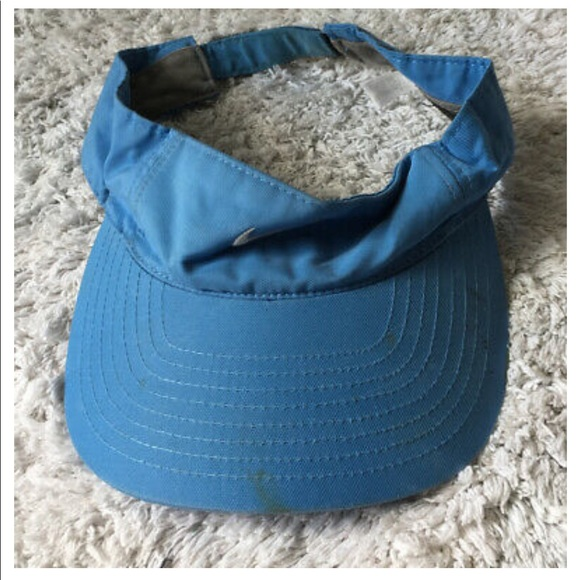Nike One Blue Golf Visor Adult Unisex Hat Swoosh
